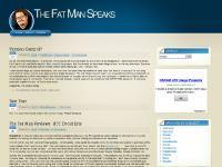The Fat Man Speaks