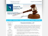 toscanilindros.com Our Firm, Thomas F. Toscani, John E. Lindros
