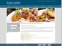 Toscani's Cafe Bar and Restaurant - Quality Italian and Mediterranean Influenced Food - Toscanis - Cafe, Bar and Restaurant