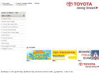 toyota.com.ph Find a dealer, Customer Assistance Hotline, Pri