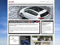 toyotauk.com Toyota & the environment, Renewable energy, 360 Approach