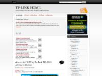 Tp-Link Home | Concerned About TP-LINK Product Introduction And Configuration