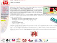 T&P Fire Ltd, Design, Install and maintain fire extinguishers, fire alarms,