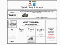 Tram Treni caduti 1GM Vercelli