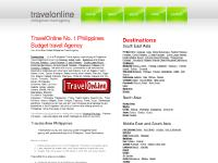 travelonline.ph travelonline, philippines travel agency, travel online