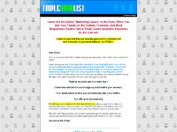 Triple Your List :: Recycling Lead Powerline