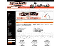 tristatebobcat.com Skid-Steer Loaders, Mini-Track Loaders, Excavators