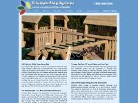 Cedar Swing Sets and Play Sets by Triumph Play Systems