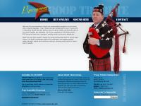 Troop Tribute | Bagpipe music by Pipe Major Martin Hewins