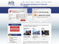 truckersassist.com roadside assistance, truck repair, truck towing