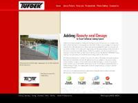 tufdek.com Web Design, Warranty, Testing