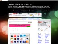 Television online, on HD and on 3D.