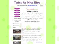 Twice As Nice Kids - Home Page