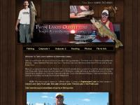 Walleye Fishing Nakina Ontario Twin Lakes Outfitters Outpost Camps