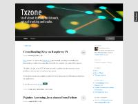 Txzone | Stuff about Python, multitouch, optical tracking and audio