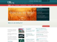 Scroll Down, UB Women's Conference, Explore our website, Branding + Website Design by Antistatic