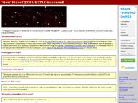 2003 UB313: Tenth Planet is Discovered