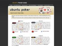 Ubuntu Poker | Find out all about Ubuntu compatible poker rooms