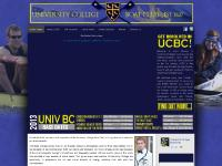 Welcome to UCBC