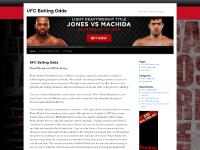 UFC Betting Odds | UFC News | UFC Tips | UFC Videos | UFC Results | UFC Betting Odds