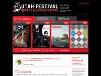 Utah Festival Opera & Musical Theatre - Home