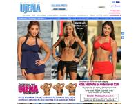 ujena.com bikinis, swimwear, bathing suits