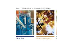 Welcome to the Umecrine Company Group