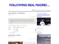 following Real Madrid…