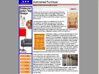 Unfinished Furniture - Solid Wood Furniture