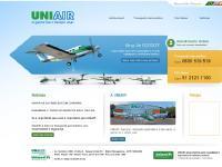 UNIAIR - Transporte Aeromédico | Táxi Aéreo