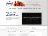 UNIGUARD Machine Guards OSHA ANSI Compliant Machine Guard Solutions
