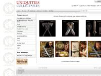 uniquities.co.uk Lord,rings,swords