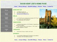 David Kent Lee - Home Page