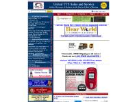 United TTY Hearing Impaired Phones Deaf Assistive Listening TTY Products