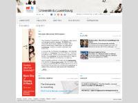 Université du Luxembourg - Page d'accueil