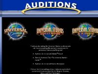 Universal Studios Auditions
