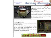 universalboxingmanager.com universal boxing manager, boxing manager game for Mac and Pc