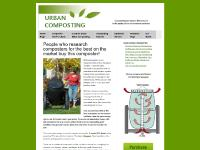Urban Composter Tumbler. World's Best Composter.