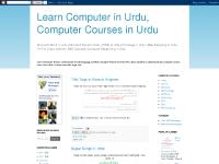 urduschool.blogspot.com HTML, Salary Sheet in Excel, MS Excel