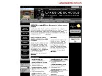 usd272.org Web standards, Front Page, Lakeside Elementary - Downs
