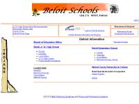 Parent-Student Handbook, Faculty, Calendar, Beloit Elementary Library