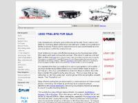 usedtrailers4sale.co.uk aluminum trailers, bike trailers, boat trailer