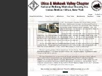 Utica & Mohawk Valley Chapter NRHS