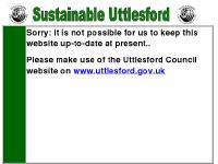uttlesford.org.uk Uttlesford, LA21, Saffron Walden