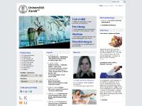 UZH - Institute of Pharmacology and Toxicology - Homepage title