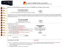 Yaesu FT1000MP and MarkV HF Ham Radio Site