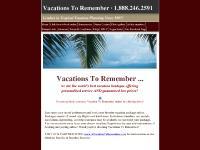 vacationstoremember.com