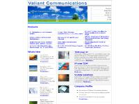 Valiant Communications: Telecom transmission solutions, Multiplexers, DXC, TDM