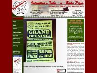 Valentino's Take-n-Bake Pizza -- Home