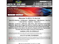 Astra ECU | ECU's To Go | Corsa ECU/Vauxhall ECU/Vectra ECU/Zafira ECU/Meriva